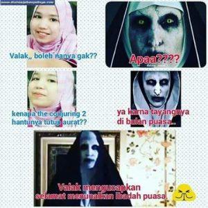 Di Indonesia Hantu Valak Terus Di Bully-BestTangsel-6